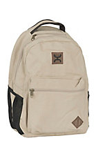 HOOey Tan Original Canvas Backpack