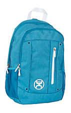 HOOey Logic Textured Teal Backpack