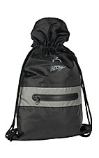 HOOey Black Weathertight Roll Down Backpack