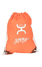 HOOey Neon Orange Draw Tight String Bag