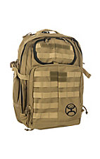 HOOey Tan Large Carrier Backpack