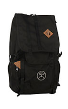 HOOey Black Topper Do It All Backpack