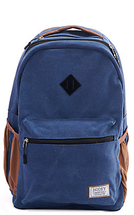 HOOey Recess Solid Blue Denim Backpack