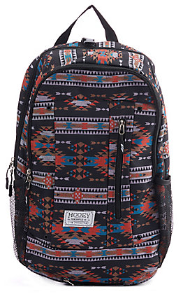 HOOey Rockstar Black Aztec Backpack