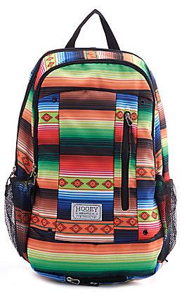 HOOey Rockstar Black Serape Backpack