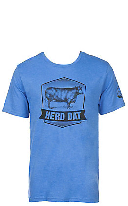 Mason Jar Label Blue Herd Dat T-Shirt