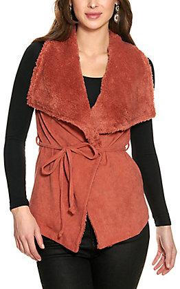 HYFVE Women's Brick Shawl Collar Vest