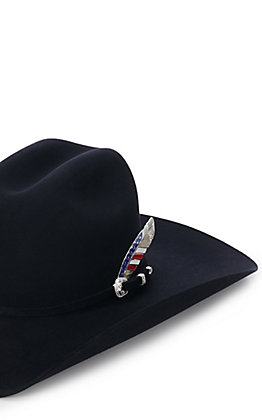 Montana Silversmiths Stars and Stripes Hat Feather