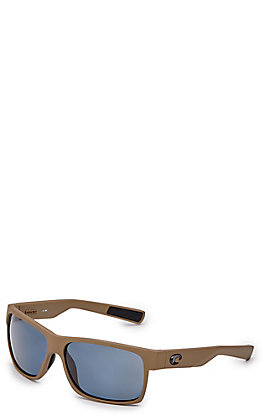 Costa Half Moon Matte Moss Grey Sunglasses