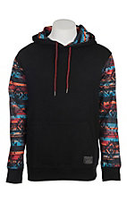 HOOey Men's Chimayo Black Aztex Printed Hoody