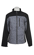 Hooey Men's Cavender's Exclusive Bonded Gray with Black Jacket