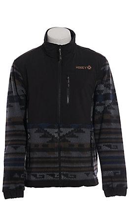 HOOey Men's Black & Serape Tech Jacket