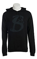 Stackin Bills Men's Black Logo Long Sleeve Hoody