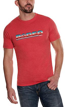 Hooey Men's Red Graphic Short Sleeve T-Shirt