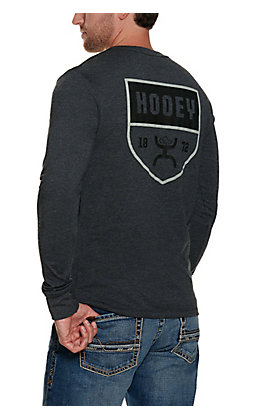 Hooey Men's Black Long Sleeve T-Shirt