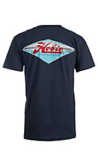 Hobie by Hurley Men's Diamond Pocket Navy Short Sleeve Tee