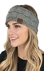 C.C. Beanies Light Grey Head Wrap