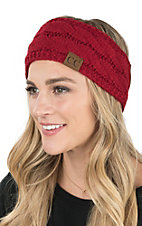 C.C. Beanies Red Head Wrap