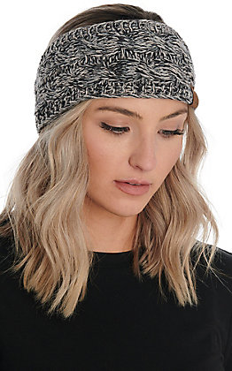 C.C. Exclusives Women's Black Multi Headwrap