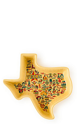 One Hundred 80 Degrees Keep the Faye Texas Map Casserole Dish