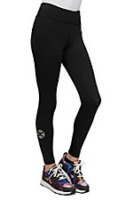 HOOey Women's Black Yoga Pants