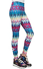HOOey Women's Tie Dye Yoga Pants