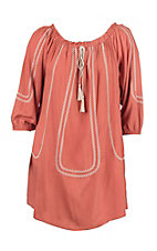 Flying Tomato Women's Rust Dress