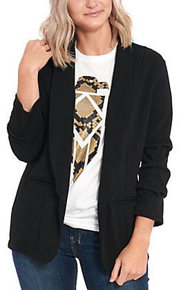 Moa Moa Women's Black Blazer