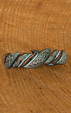 Patina Textured Stretch Bracelet