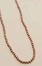 Amber's Allie Copper Beaded Necklace