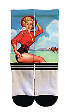 Icon Socks Pinup Cowgirl Socks