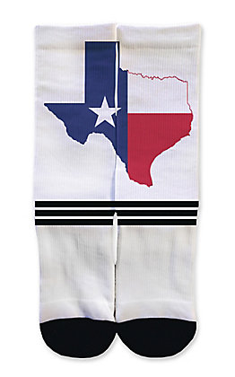 Icon Socks Texas Flag Socks