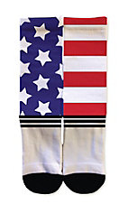 Icon Socks Uncle Sams American Flag Socks