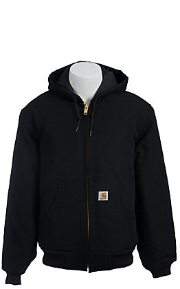 Carhartt Black Duck Quilted Flannel Lined Active Jacket - Big & Tall