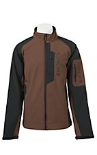 Cinch Men's Brown & Black Bonded Jacket