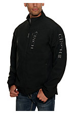 Cinch Men's Black Bonded with Grey Logo and Concealed Carry Pocket Jacket