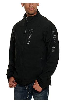 Cinch Men's Black & Grey Concealed Carry Pocket Bonded Jacket