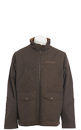 Cinch Men's Brown Concealed Carry Contender Jacket