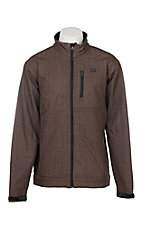 Cinch Men's Brown Printed Bonded with Black Logo Cavender's Exclusive Jacket