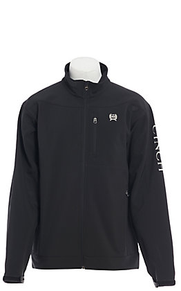 Cinch Men's Black & Silver Bonded Jacket