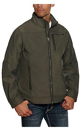 Cinch Men's Olive Storm Defense Long Sleeve Jacket