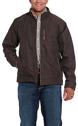 Cinch Men's Brown Concealed Carry Pocket Bonded Jacket