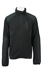 Cinch Tech Men's Black Hybrid Knit Soft Shell Jacket