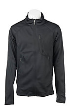Cinch Men's Black with Black Logos Long Sleeve Bonded Jacket