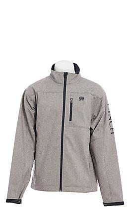 Cinch Men's Textured Grey Bonded Jacket