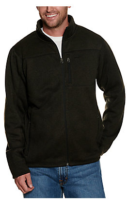 Cinch Men's Heather Charcoal Sweater Jacket