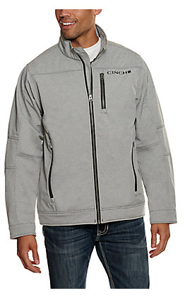 Cinch Men's Grey Bonded Long Sleeve Jacket