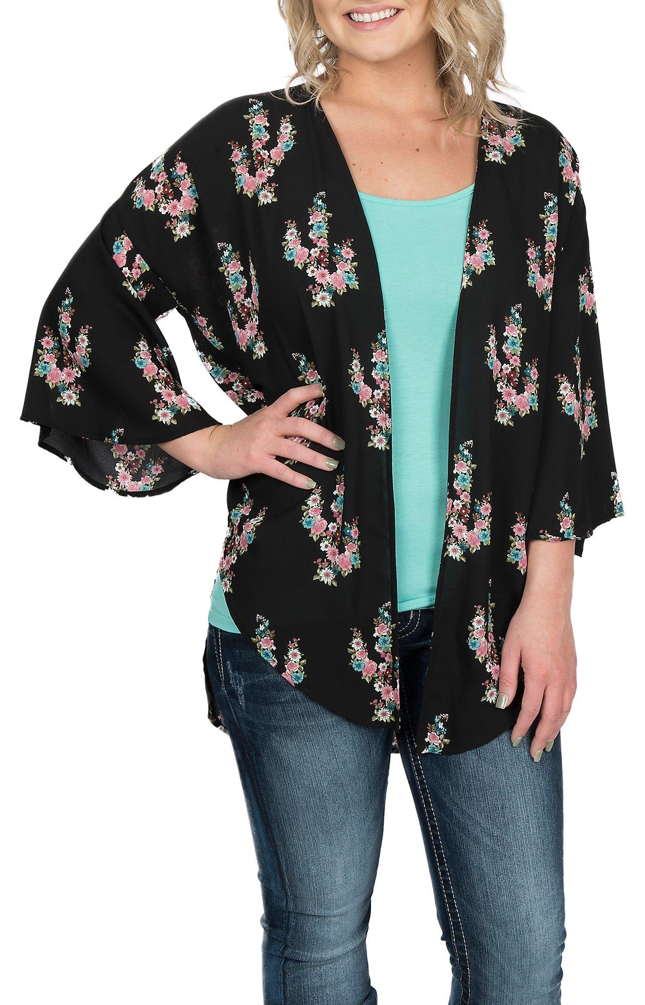 Women's Kimono Cardigans, Vests & Tops | Aztec Cardigans | Cavender's