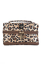 PurseN Classic Leopard Tiara Vacationer Jewelry Case