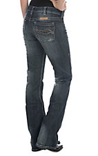 Cowgirl Tuff Women's Dark Wash Dont Fence Me In Boot Cut Jeans